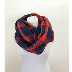 Comfy and Cozy Plaid Infinity Scarf